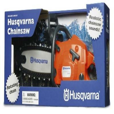 ❤ Husqvarna Battery Operated Toy Chain Saw Play New