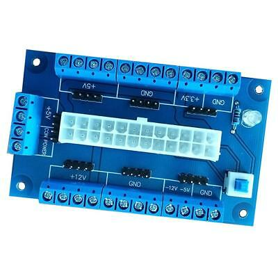 24/20-pin ATX DC Power Supply Breakout Board Module
