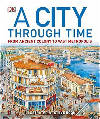 A City Through Time by Noon, Steve Book The Cheap Fast Free Post