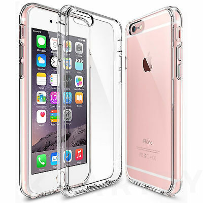 New iPhone 6 Case Transparent Crystal Clear Case Gel TPU Soft Cover Skin