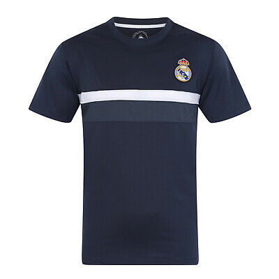 Real Madrid FC Official Football Gift Boys Poly Training Kit T-Shirt