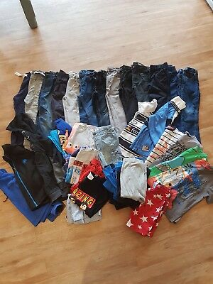 boys clothes bundle age 3-4 age 4. Jeans, trousers, tops, jumpers, thermals, pjs
