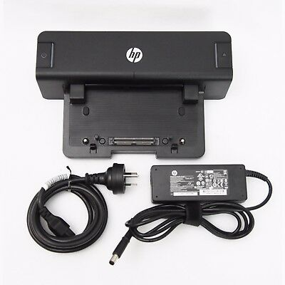 Genuine HP 90W A7E32AA 2012 Docking Station With AC Adapter