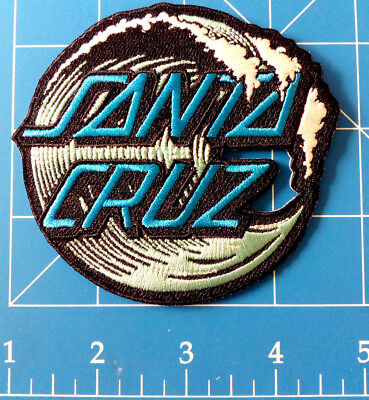 Santa Cruz Wave Dot Patch, Dress Up Yo Raggedy Ass!