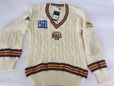 Queensland Bulls Sheffield Shield Jumper (New With Tags)