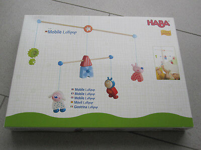 HABA Mobile Lollipop Baby Holz SUPER ZUSTAND