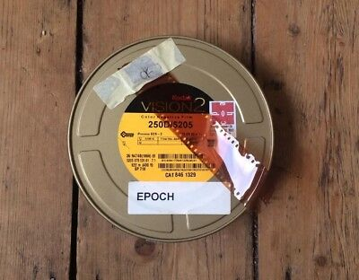1 x KODAK VISION 2 250D 5205 35mm Motion Picture Film Stock *400FT CAN*