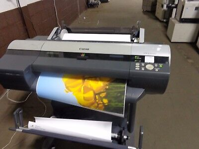 Canon iPF 6300S 24 inch Wide Format Printer  2041.0 sq. ft. Printed