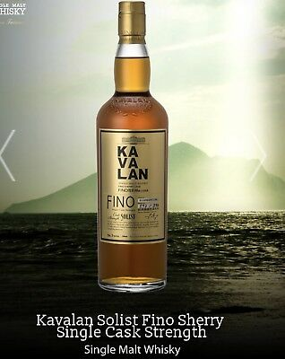 Kavalan SOLIST Single Cask Strength Single Malt Whiskey FINO Barrique 700ml