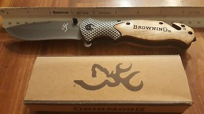 Browning X50 Tactical Survival folding pocket knife