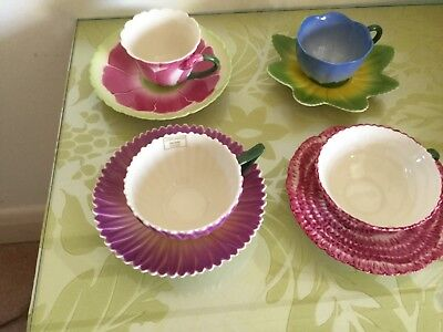 Set of 4 retro floral tea cups.Unused from Laura Ashley Home.