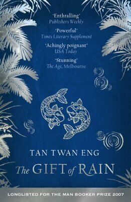 The Gift of Rain by Tan Twan Eng Paperback Book The Cheap Fast Free Post