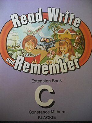 Read, Write and Remember: Extension Book C by Milburn, Constance Paperback Book