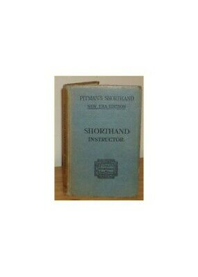 Vintage pitmans shorthand instructor 1913 250 picclick uk shorthand instructor pitmans by pitman isaac hardback book the cheap fast fandeluxe Choice Image