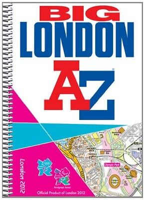 Big London 2012 Street Atlas (London Street Atlases) by Geographers' A-Z Map Com