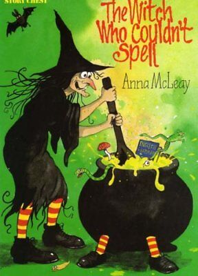 Story Chest: Witch Who Couldn't Spell Stage 11 by McLeay, Anna Paperback Book