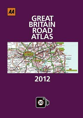Great Britain Road Atlas 2012 by AA Publishing Hardback Book The Cheap Fast Free