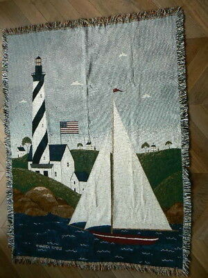 WANDTEPPICH COASTAL BREEZE WARREN KIMBLE USA TAPESTRY 183X137 cm - 72x54 inch