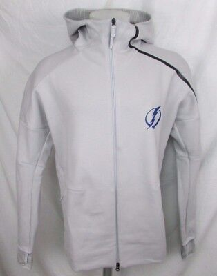 new products 54591 ad2b7 TAMPA BAY LIGHTNING Men's Adidas Front Zip Hoodie Gray L, XL, 2XL