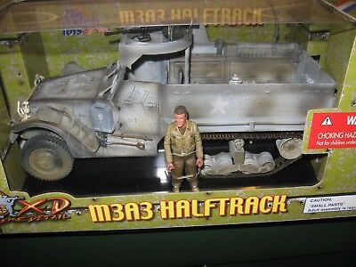 1/18 Ultimate Soldier Wwii U S M3A3 Halftrack 1St Infantry Division Soldier New