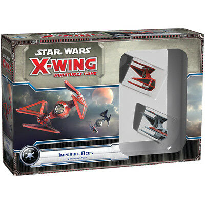 Star Wars X-Wing Imperial Aces - Fantasy Flight Games - New Miniature