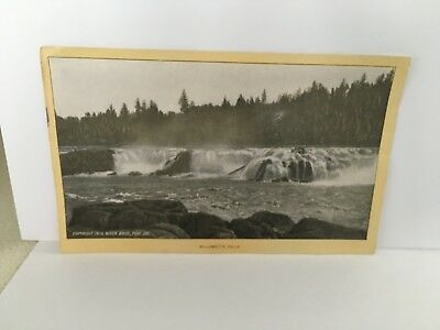 WILLAMETTE FALLS  OREGON Singer Sewing photo view Advertising Card