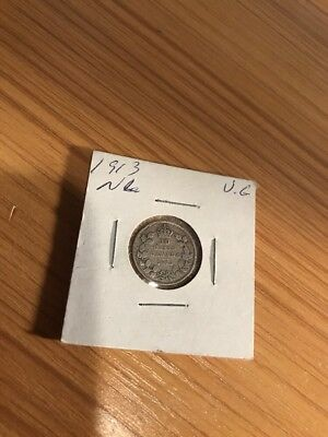 1913 10C Canada 10 Cents