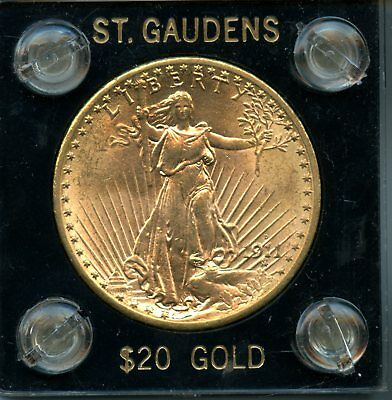 1911 .9675oz 90% Gold $20 St. Gaudens Double Eagle Gold Coin RN250