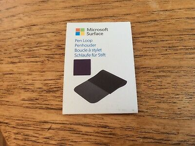 Official Microsoft Surface 3 Purple Pen Holder Loop New Surface Pro 3, 2, 4 Book