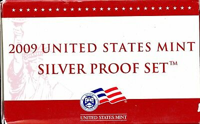 Gorgeous 2009 United States Mint Silver Proof Set BF 289