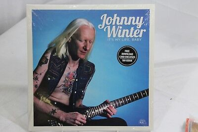 Johnny Winter It's My Life Baby Sealed Record Store Day Vinyl LP 33rpm
