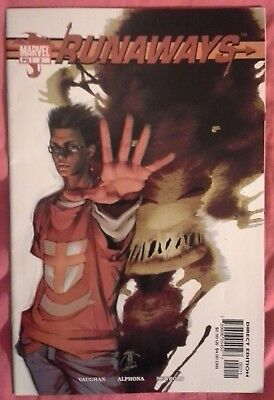 RUNAWAYS (2003/Vol 1) #2 by Brian K. Vaughan & Adrian Alphona - MARVEL COMICS