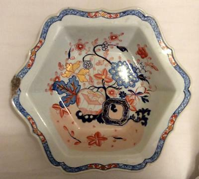 Antique 18Th Century Chinese Hand Painted Porcelain Bowl