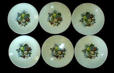 SWINNERTONS HARVEST FRUIT 6 inch Plates x 6