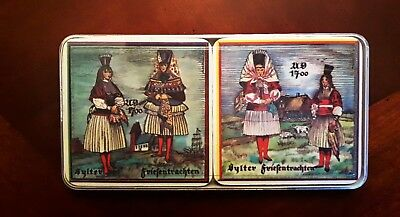 Set of 6 Coasters , Melamine w/Cork, Schuberth, W.Germany, NEW