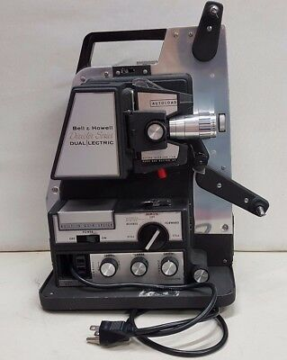 Vintage Bell & Howell Model 465 Director Series Reg.8MM Film Projector
