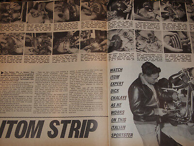 Rare ITOM 50 ENGINE & GEARBOX EXPERT STRIPDOWN GUIDE