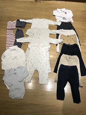 Boys Bundle Baby Clothes 18-24 Months 1.5-2 Years White Company Petit Bateau