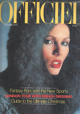 L' Officiel. Holiday Issue. 1976. Pelze. Furs. Leather.