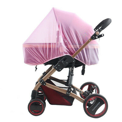 Mosquito Bug Net Cover Shade Universal Buggy Pram Baby Stroller For Pushchair