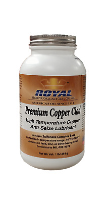 2 Pk Royal Premium Copper Clad Anti Seize Lubricant 16 Oz Canisters