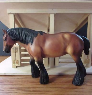 Breyer Horses Traditional Shire Mare Horse - Chestnut Brown and Black