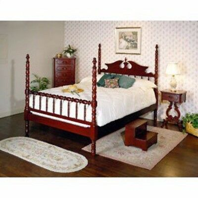 Davis Cabinet Lillian Russell Collection, Solid Cherry, 4-piece set.