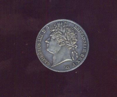 England, 1826 Low Mintage (2,376) Maundy Silver Groat Or 4 Pence Of George IIII