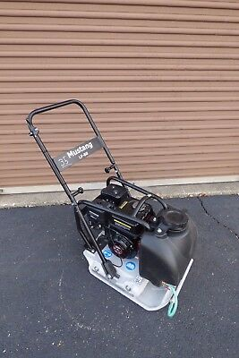 Mustang LF88 Plate Compactor Wacker Packer Soil Compaction Tamper W/ WATER TANK