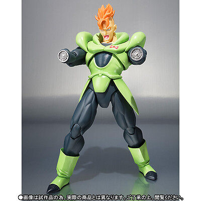 S.H. Figuarts Dragonball Z Android 16 action figure Tamashii Exclusive Bandai