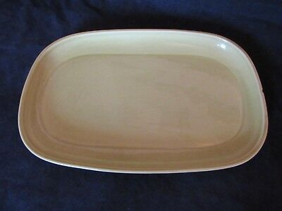 Vintage Russel Wright Steubenville Green Small Rectangle Platter
