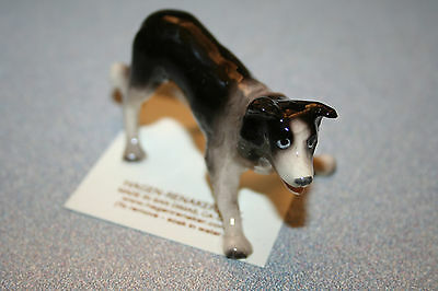Hagen Renaker Dog Border Collie Figurine Miniature Gift New Free Shipping 03338