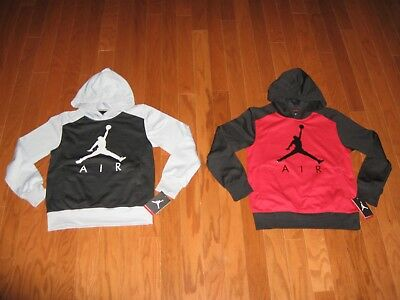 Air Jordan Pull-Over Hoodie Jacket Boys Size S/m/l/xl Nwt
