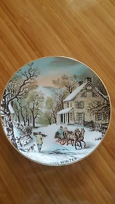 Collector Plate - The Four Seasons - Winter